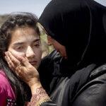 12-летняя палестинская девочка вышла из израильской тюрьмы