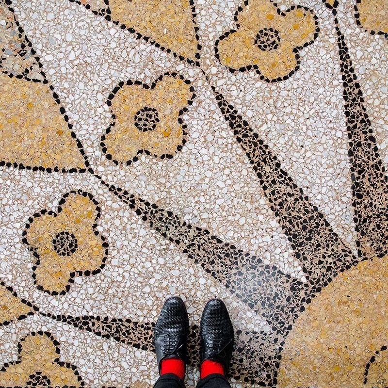 Венецианские напольные мозаики