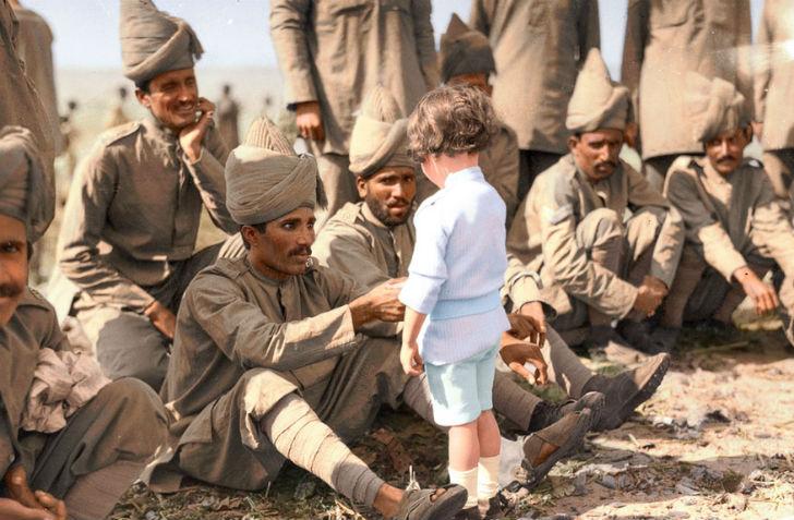 Неизвестное прошлое: как цвет оживляет исторические фото