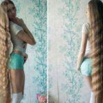 Русская Рапунцель отращивает свои роскошные волосы вот уже 13лет