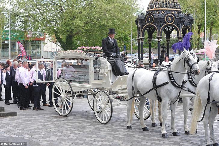Роскошные похороны английской королевы цыган