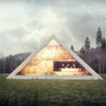 Почувствовать себя фараоном: футуристический концепт дома-пирамиды