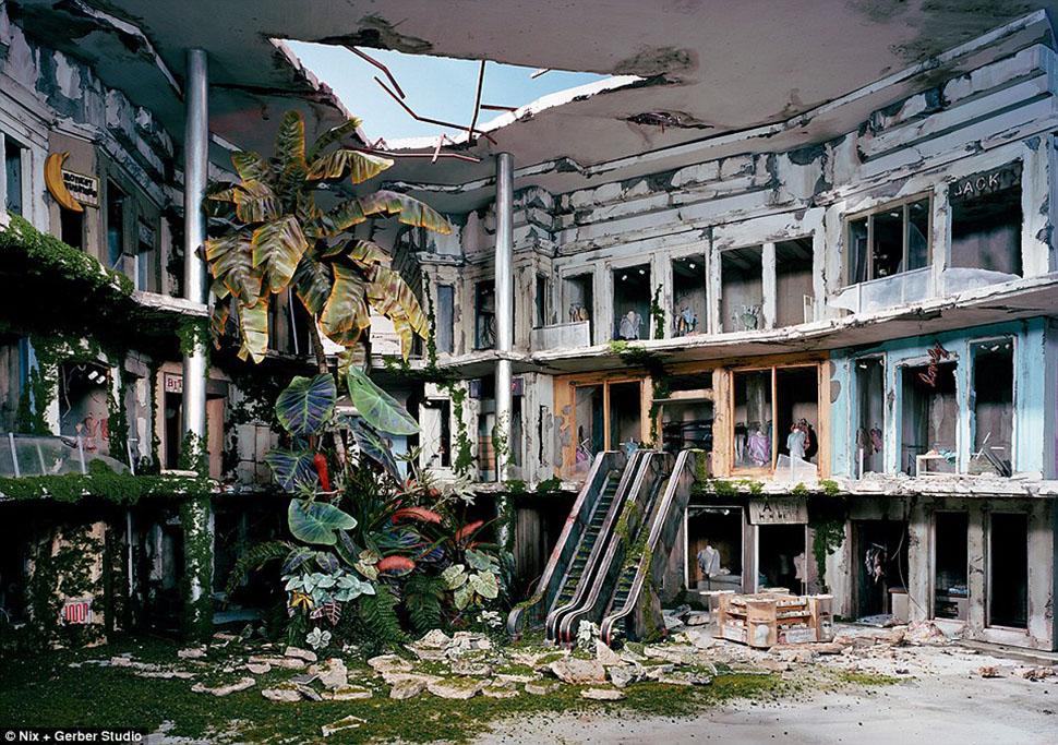 Как выглядит конец света: художница делает реалистичные до ужаса миниатюры возможного постапокалипсиса