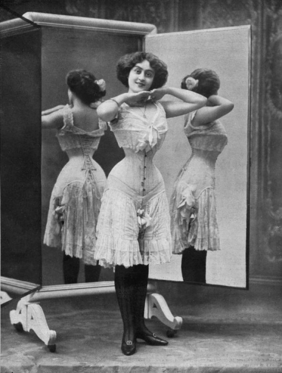 женское белье 1900