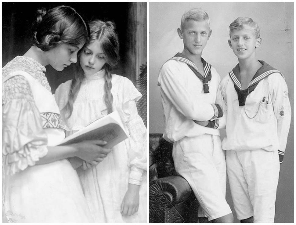 Даешь, молодежь: как выглядели подростки из разных стран 100 лет назад