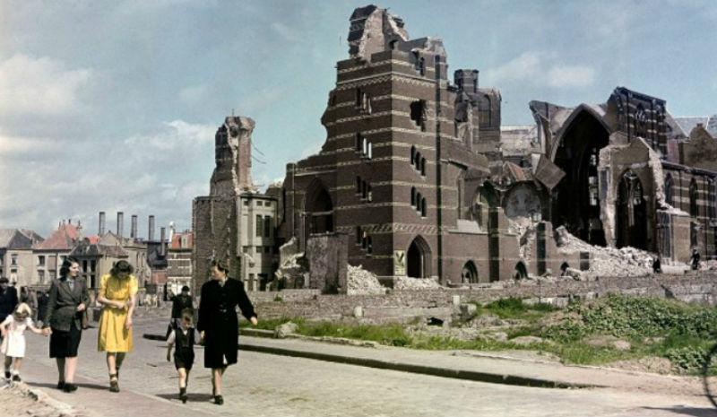 На что была похожа Европа после Второй мировой войны