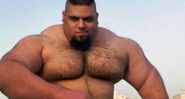 Лучше его не злить: иранский Халк весит 155 килограммов, и все этомышцы