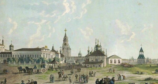 Как выглядела Москва конца XVIII века до большого пожара 1812года