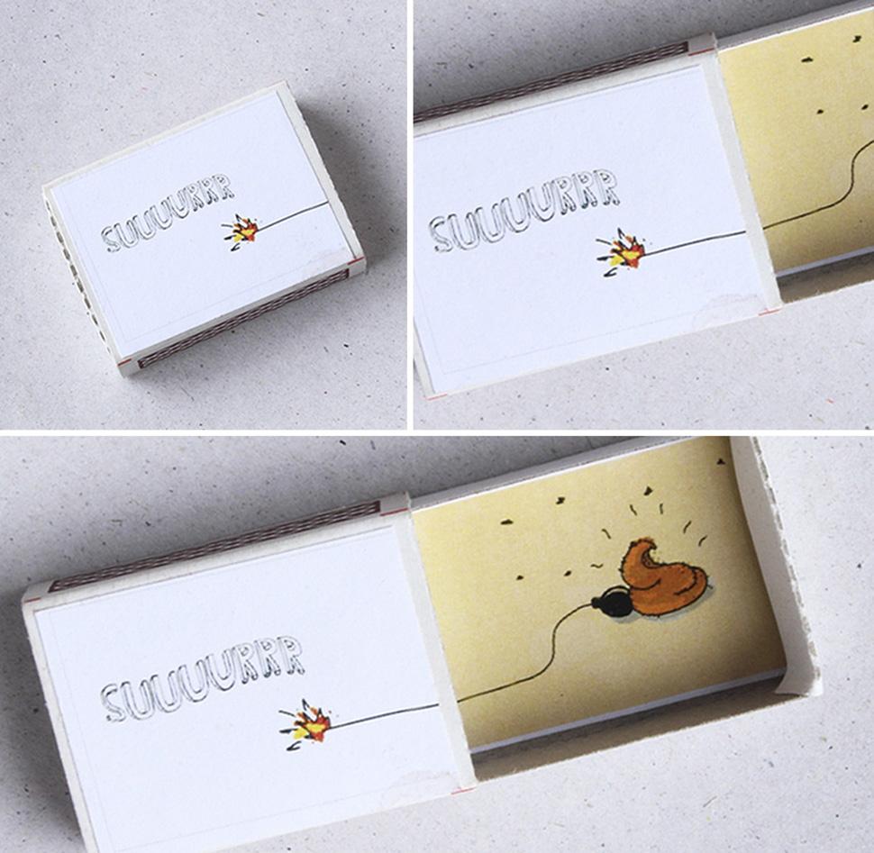 помощью спичечная коробка открытка который был хотя