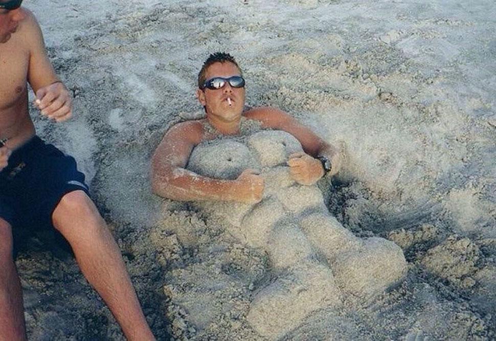 Лежу я на пляжу: чудовищно прекрасные отдыхающие, которых можно встретить на любом пляже фото