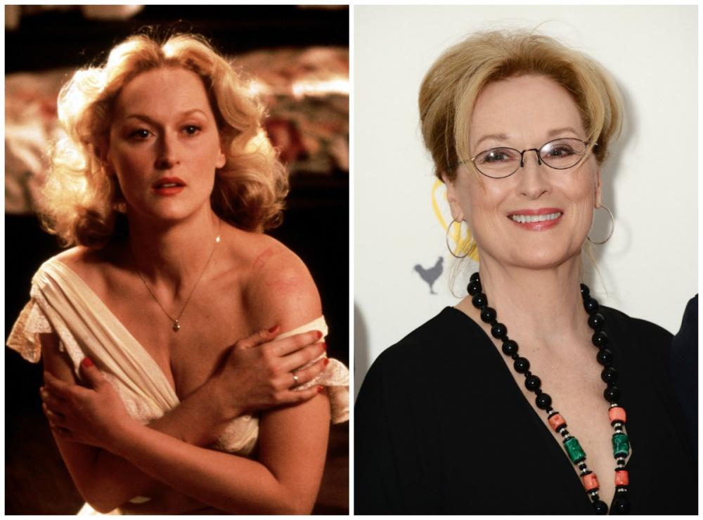 Steven Spielberg and Meryl Streep on   Hollywood Reporter