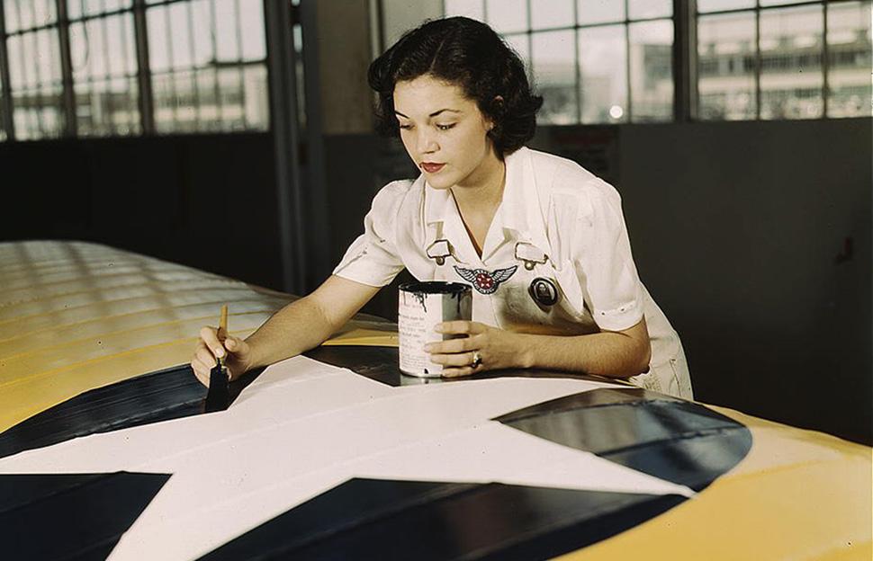 Цветные воспоминания о Второй Мировой в объективе американских фотографов