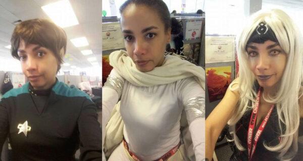 Девушка ответила косплеем на абсурдные и расистские требования рабочего дресс-кода