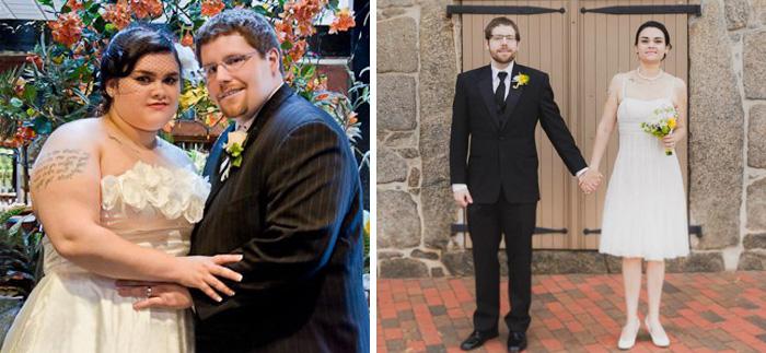 Вдохновляющие фотографии пар до и после совместного похудения