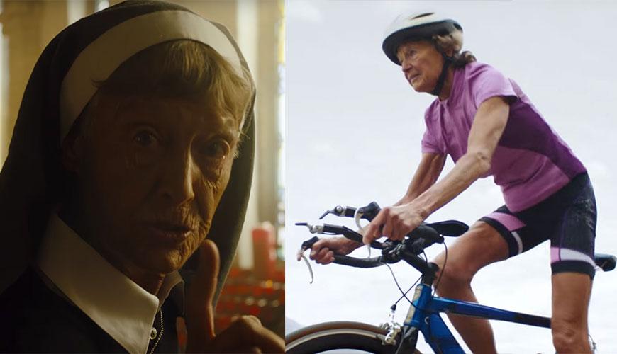 86-летняя монахиня-триатлонистка снялась в рекламе Nike