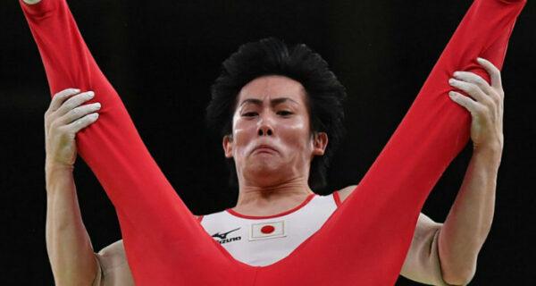 Курьезные лица олимпийских гимнастов вРио