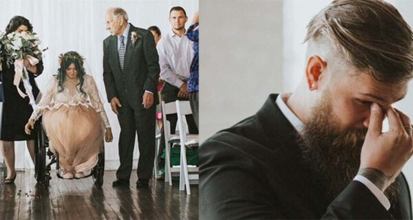 Чудеса случаются: парализованная невеста встала и пошла к алтарю, растрогав жениха и гостей дослез