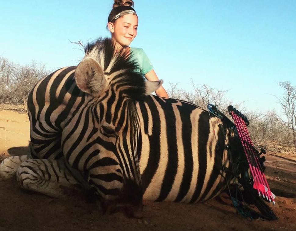 12-летняя девочка, которая любит убивать животных