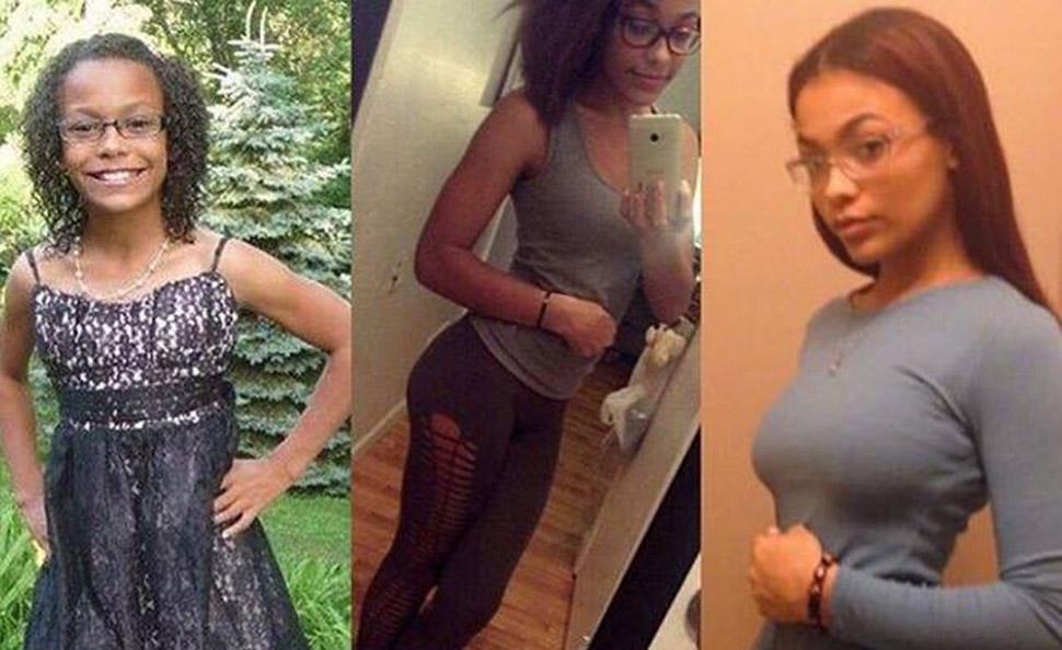 Бывшие «гадкие утята» делятся фото до и после в рамках флешмоба в Facebook