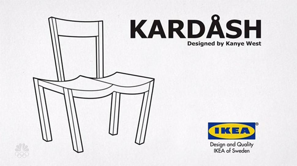 Вот такой Кардаш! IKEA и ее поклонники троллят Канье Уэста