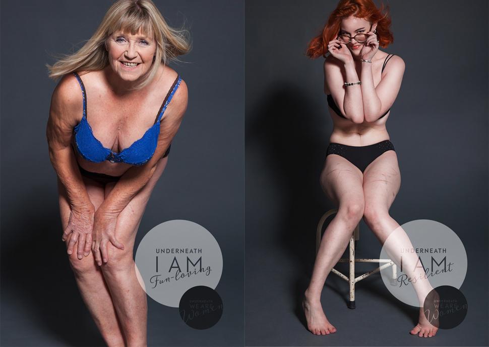 Австралийский фотограф сняла 100 обычных женщин в белье в рамках бодипозитивного фотопроекта