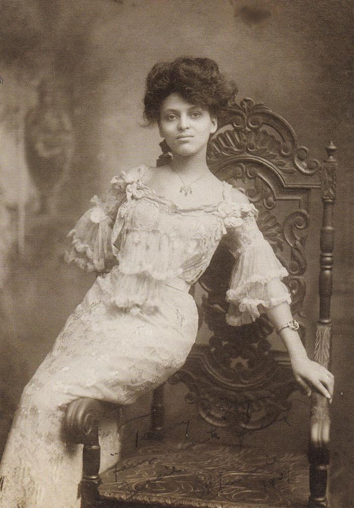 most beautiful women culturainquieta7 - 11 самых красивых женщин начала XX века