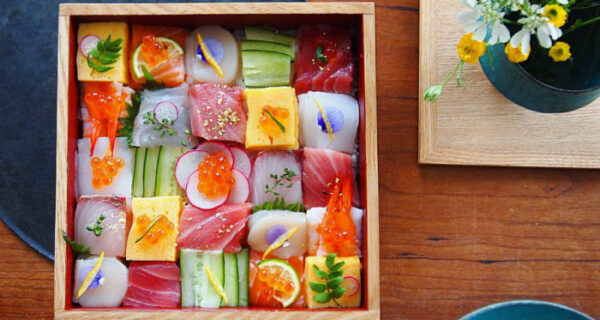Новый тренд в инстаграме: японцы публикуют фотографии мозаик изсуши