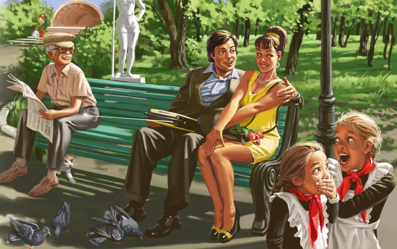 Советские плакаты в стиле пин-ап от Валерия Барыкина (13)