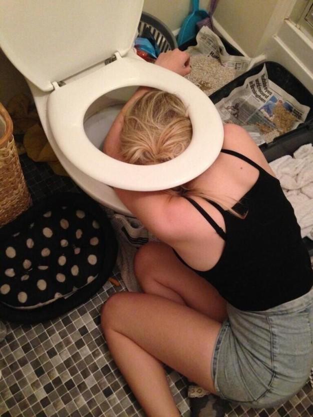 Моя пьяная дочь