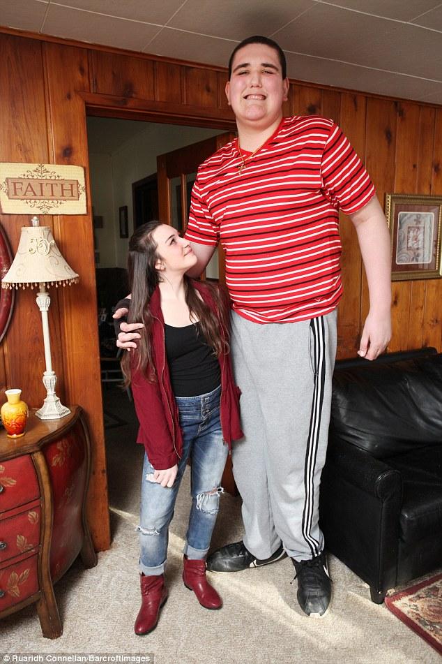 Секс женшина большое роста гигант