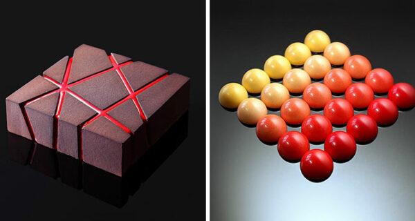 Украинский кондитер создает невероятную геометрическую выпечку