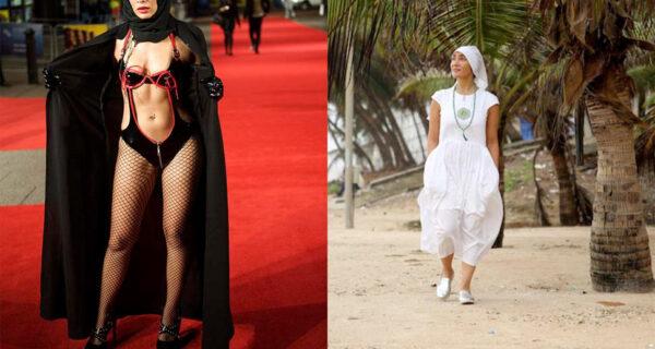 Звезда Болливуда отказалась от силиконовой груди, откровенных нарядов и гламурного образа жизни, чтобы стать монашкой