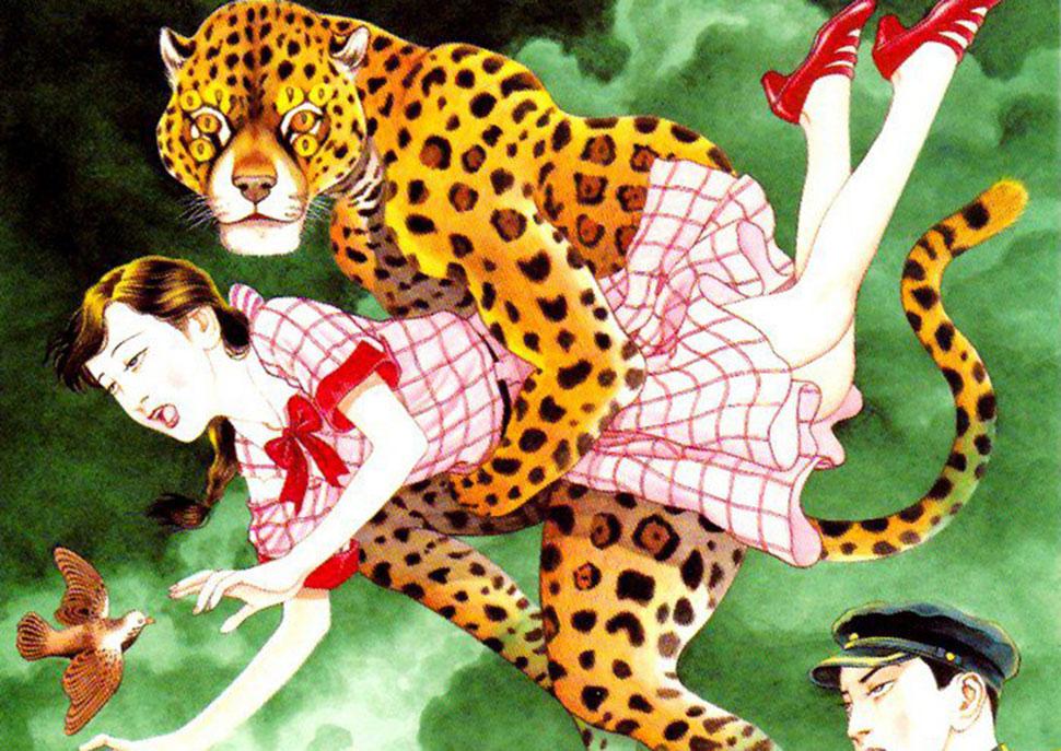 Японский иллюстратор, чьи работы настолько непристойны, что запрещены в родной стране