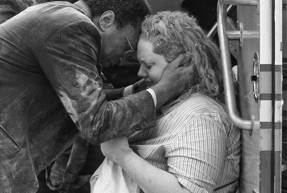 Снимки британца Фила Пенмана, который оказался на месте теракта 9/11