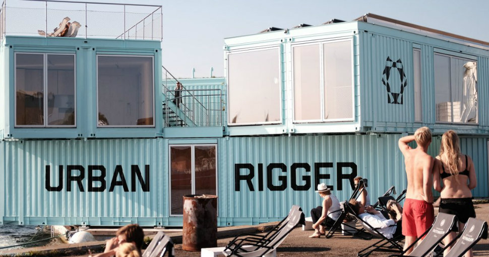 В Копенгагене студентов селят в плавучие транспортные контейнеры за 600 долларов в месяц