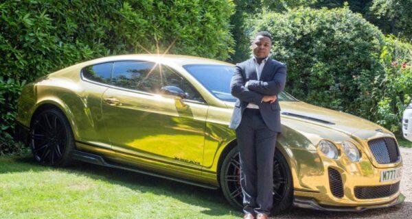 19-летний парень продавал бигмаки, а теперь ездит на золотом Bentley