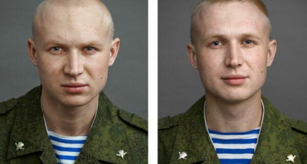 Портреты солдат до и послеармии