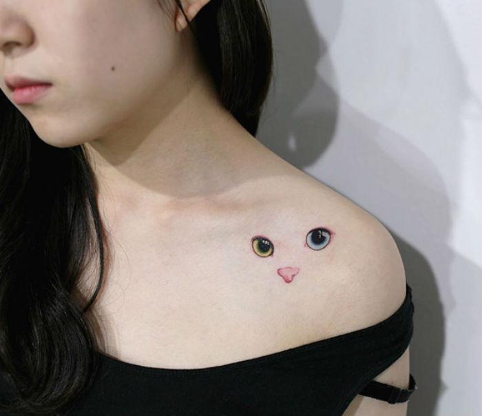 23 лучшие идеи татуировок для преданных любителей котиков
