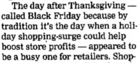 Как появилась Черная пятница: история легендарной распродажи