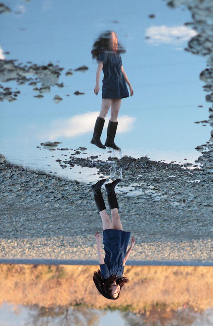 отражения и оптические иллюзии