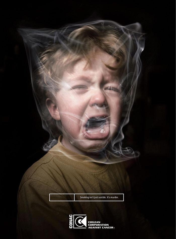 Как выглядит горло курильщика