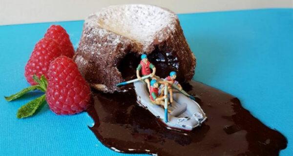Итальянский шеф-повар создает миниатюрные миры из десертов