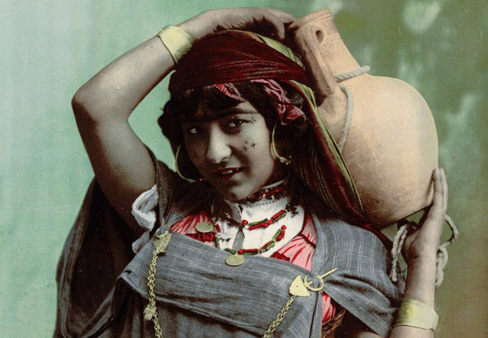 Редкие цветные кадры из Туниса рубежа 19–20веков