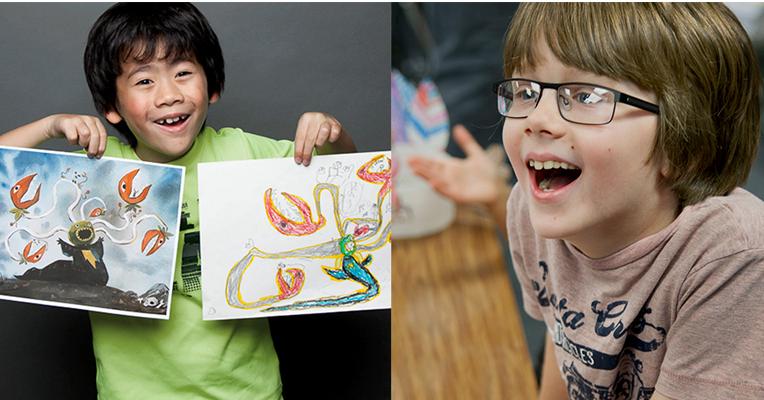 Проект «Монстры»: художники создают фантастические миры по мотивам детских