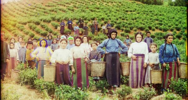 Цветные фотографии женщин Российской империи начала XXвека