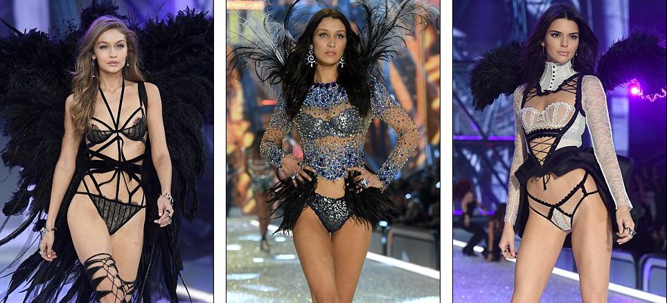 6ff3785017f8d Яркие образы с показа нижнего белья Victoria's Secret 2016 в Париже ...