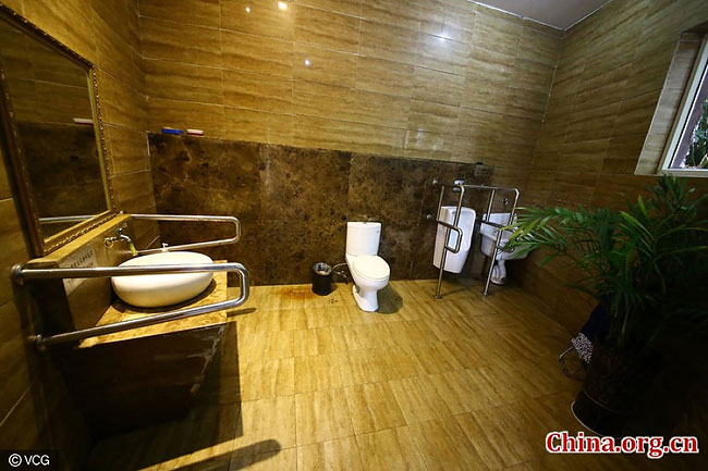 In the Chinese city opened a 5-star public toilet