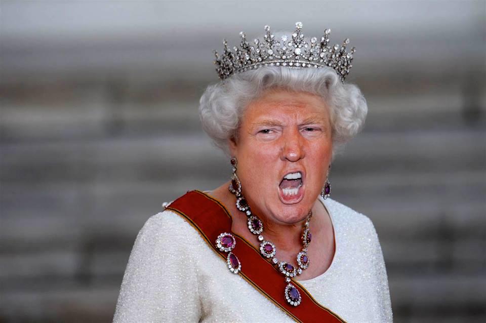 Смешные картинки королев, днем рождения для