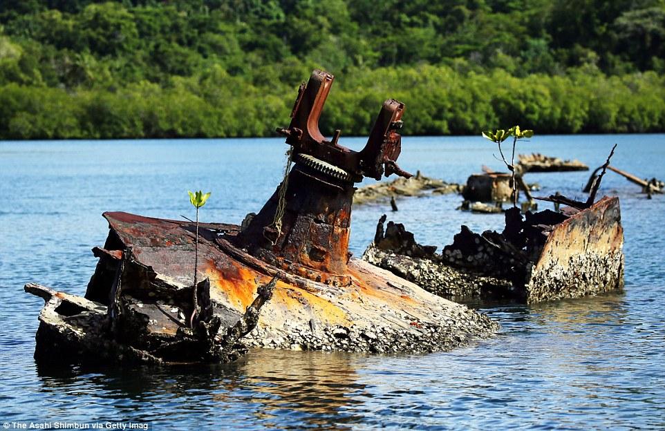 Боевые машины Второй мировой, затерянные на далеких островах в Тихом океане