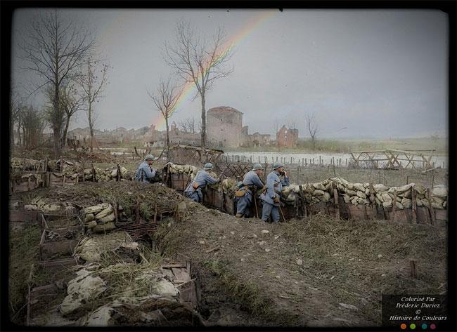 Цветные снимки Первой мировой войны